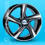 Литые диски Ford Replica A-R1704 R18 W7.5 PCD5x108 ET53 BF
