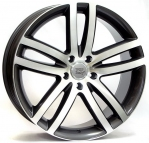 Литые диски WSP Italy Audi Q7 Wien W551 R20 W9.0 PCD5x130 ET60 Anthracite Polished