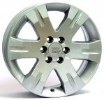 Литые диски WSP Italy Nissan Red Sea W1851 R20 W9.0 PCD6x114.3 ET30 Silver