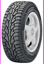 Шины Hankook Winter i*Pike W409 215/75 R15 100S под шип